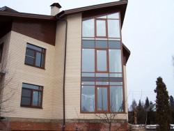 Остекление домов и  коттеджей