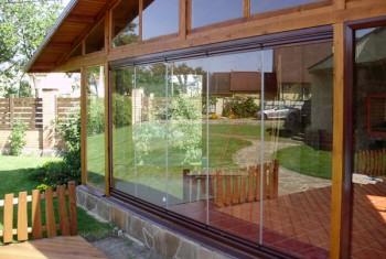 Раздвижные пластиковые окна на террасу в Туле