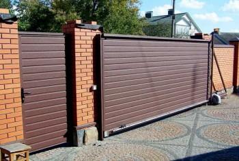 Самостоятельная установка откатных ворот